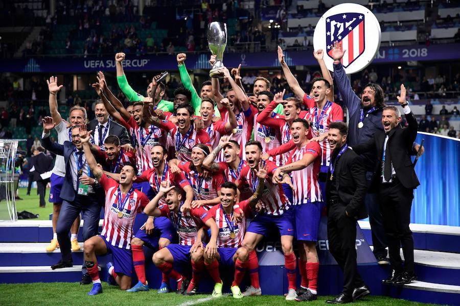 Las mejores imágenes de la victoria del Atlético de Madrid