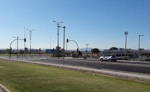 Termina la obra de integración y mejora de la seguridad de los parques comerciales en Villanueva