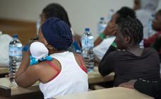 El centro de acogida temporal de Mérida alcanzará el lunes su tope de 194 plazas para migrantes