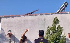 Detienen a dos vecinos de Mérida por robar instalaciones fotovoltaicas de casas de campo