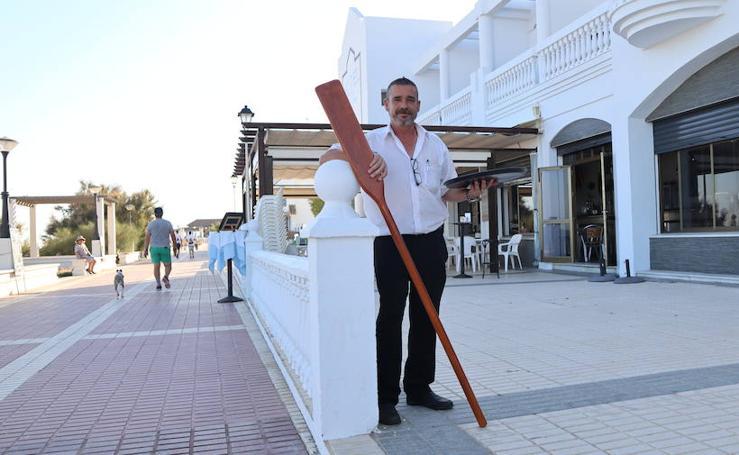'Tú al pueblo, yo a la playa': El aventurero que cambió el mar por la bandeja