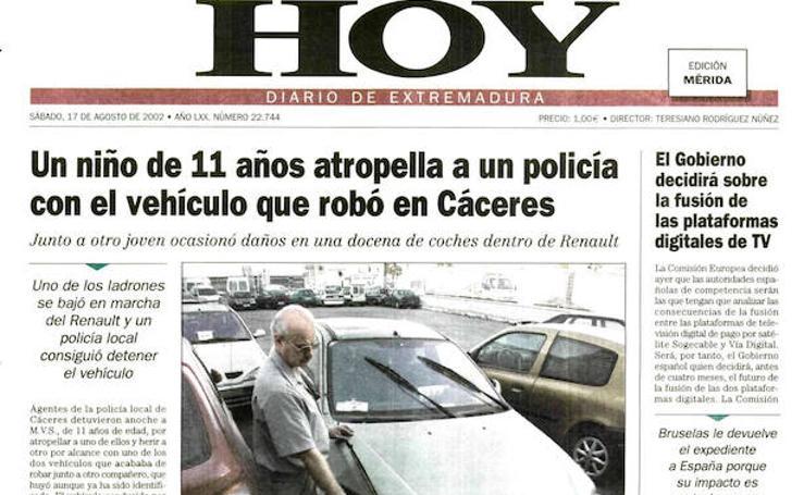 HOY LO CONTÓ UN 17 DE AGOSTO
