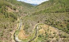 Valles en el norte de Cáceres