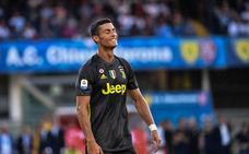 Debut sin gol de Cristiano en la sufrida victoria de la Juventus