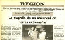 La tragedia de un marroquí en tierras extremeñas