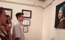 El joven artista local Javier Tovar Corisco expone en el Museo del Pimentón