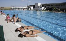 Las piscinas pierden tirón en Cáceres