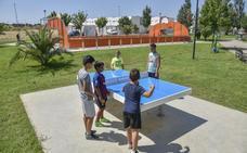 Cerro Gordo ya usa su gimnasio al aire libre