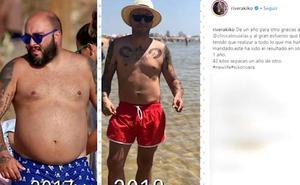 Kiko Rivera muestra su cambio físico tras perder 42 kilos