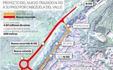 El Gobierno desatasca la obra del puente sobre la N-110 en el Jerte