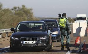 La campaña de la DGT finaliza con 23 denuncias en Extremadura, 17 por drogas