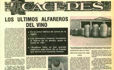 Los últimos alfareros extremeños del vino