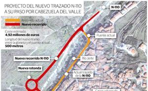 Avanza la tramitación del puente que acabará con el embudo de tráfico en el Jerte