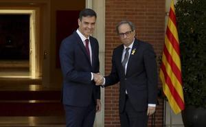 Sánchez y Torra se reunirán en otoño en la Generalitat