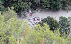 Diez excursionistas muertos en la región italiana de Calabria por la crecida de un río