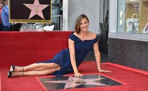 Jennifer Garner desvela su estrella en el Paseo de la Fama de Hollywood