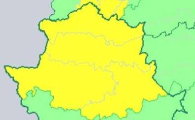 La provincia de Cáceres está hoy en alerta por lluvia y tormentas