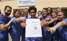 Una treintena de trabajadores de Mérida gana 537.000 euros con un boleto de la Bonoloto sellado en Valdelacalzada