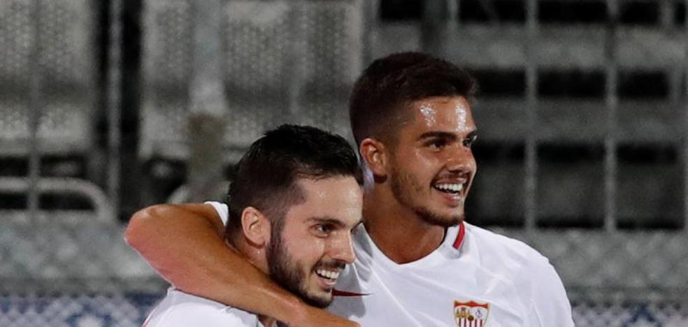 El Sevilla castiga el ímpetu checo