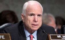 John McCain abandona el tratamiento de su cáncer cerebral
