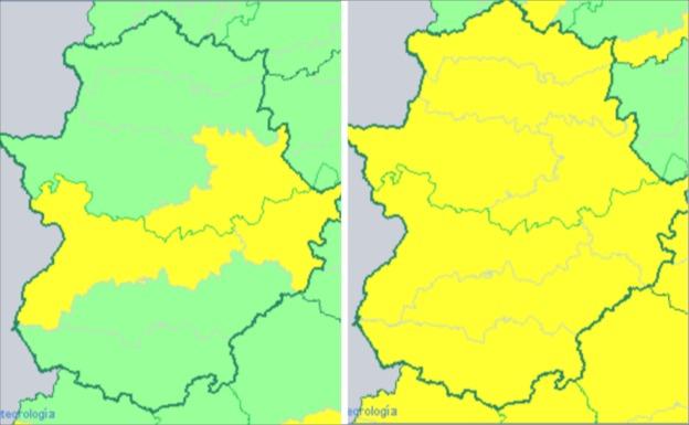 El aviso amarillo por calor se extiende mañana a toda Extremadura