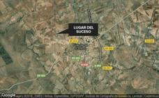 Una mujer de 38 años resulta herida en un accidente en Fuente de Cantos