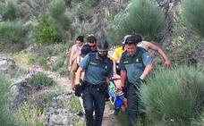 Rescates de altura en Extremadura