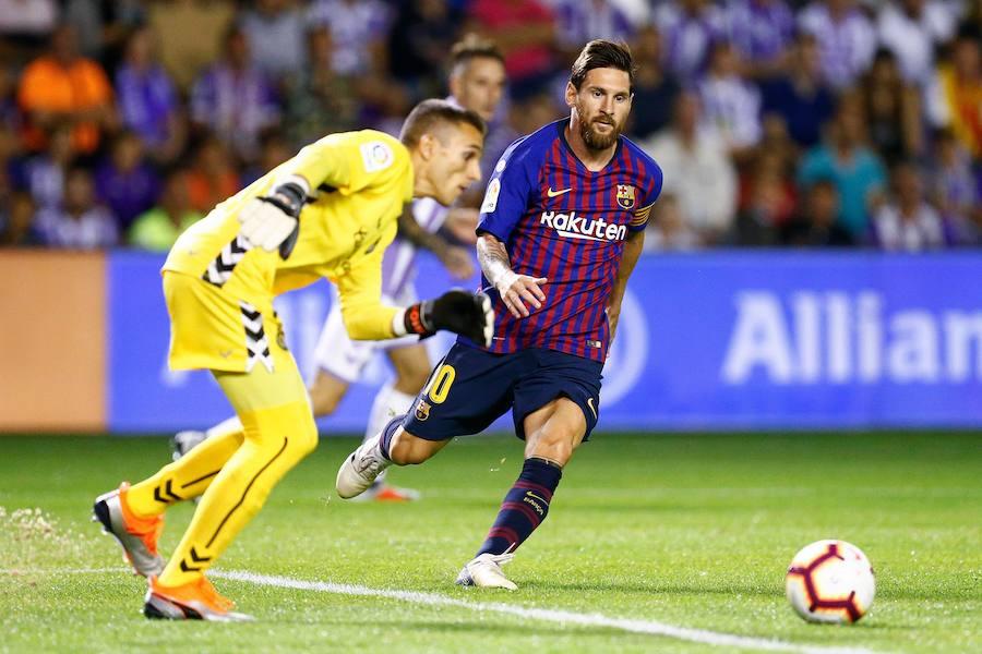 Las mejores imágenes del Valladolid-Fútbol Club Barcelona