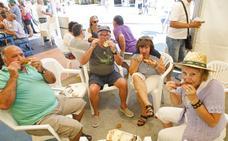Festín de tencas en Casar de Cáceres