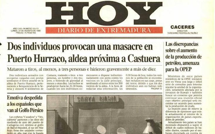 HOY LO CONTÓ UN 27 DE AGOSTO