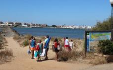 Una boticaria pacense adaptada a un pueblo de playa