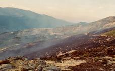 El Infoex da por estabilizado el incendio de Cabezuela del Valle