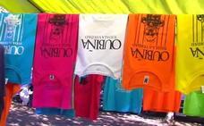 El narcotraficante Laureano Oubiña vende por los mercadillos camisetas con su caricatura