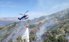 El incendio de Cabezuela sigue activo y sin estabilizar
