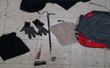 Detenido tras forzar la puerta de una peluquería y robar el bolso a una mujer en Badajoz
