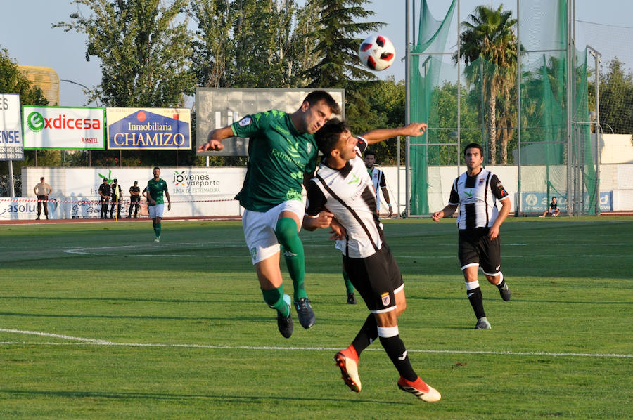 El Badajoz vence, los serones convencen