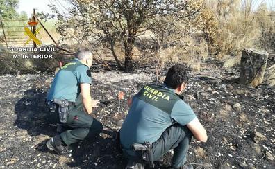 Detenido el presunto autor de dos incendios forestales en Torrejoncillo