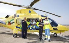El traslado en helicóptero del 112 Extremadura será más rápido con las nuevas aeronaves