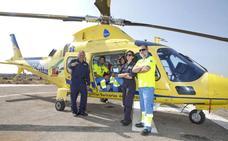Los helicópteros del SES irán 40 kilómetros por hora más rápido y tendrán mejores prestaciones