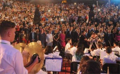 Más de cien músicos cerrarán la entrega de medallas del Día de Extremadura