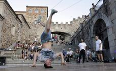 Comienza la VI edición del Festival de Cultura Urbana de Cáceres, con acciones en la Plaza