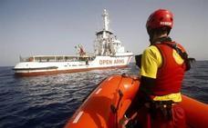Proactiva Open Arms rescatará migrantes bajo coordinación de Salvamento Marítimo