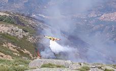 El fuego de Cabezuela del Valle ha calcinado 128 hectáreas