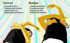 Danza en Movimiento concluye este domingo en Segura de León