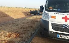 Un fallecido y cinco heridos en una salida de vía en la A-66, cerca de Almendralejo