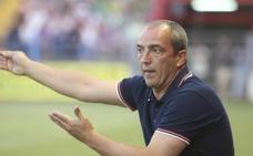 Sabas: «En la jugada del penalti se acabó el partido»