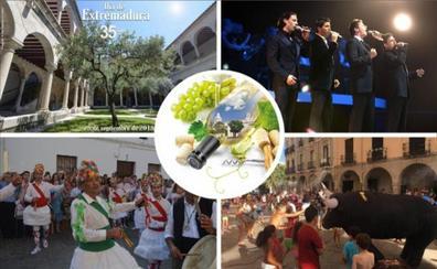 Un Día de Extremadura rodeado de ferias y gastronomía