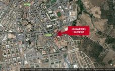 Herida con policontusiones tras un colisión entre dos turismos en Cáceres