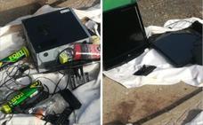 Detenido tras robar televisores y ordenadores en un hostal de Badajoz