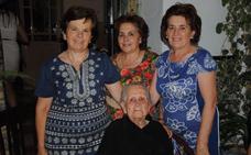 Fallece la 'abuela de Campanario' a los 104 años
